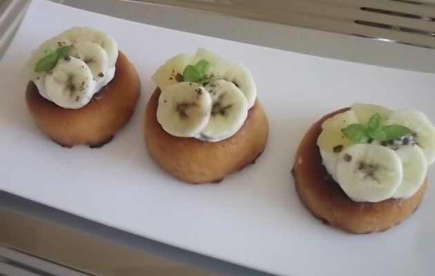 Savarin chantilly aux fruits exotiques