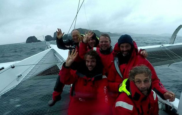 Jules Verne Trophy - Francis Joyons sets a new record at Cape Horn