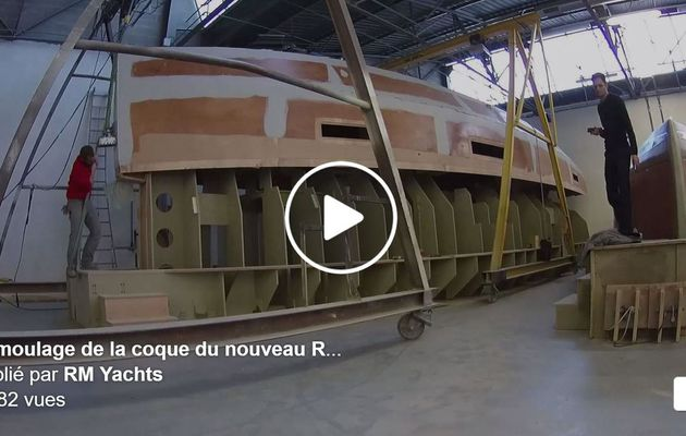VIDEO – Hull Demoulding of the very first RM 1370 in La Rochelle (France)