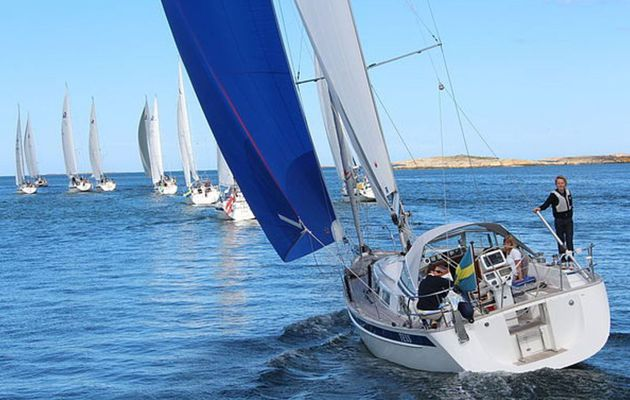 More yachts than ever before in The Hallberg-Rassy Rally 2017
