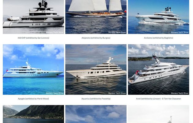 The 2017 Monaco Yacht Show unveils  its fleet of superyachts
