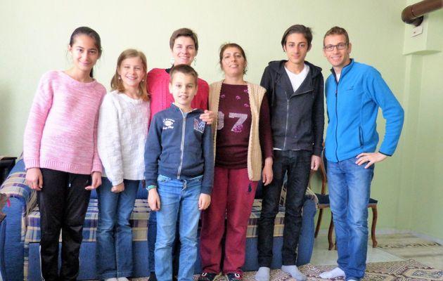 Rencontre avec une famille turque