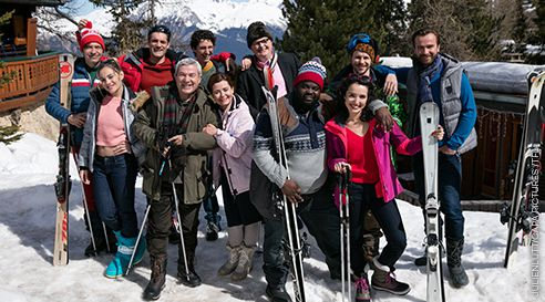 Inédit, Nos chers voisins au ski, ce soir à 21h sur TF1