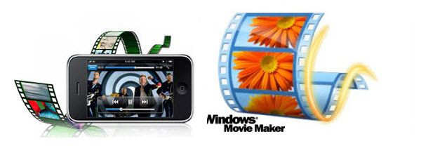 Importing iPhone MP4 Video to Windows Movie Maker