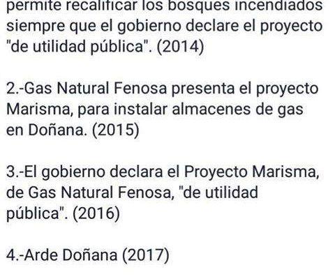 ¿Refosterán Doñana o veremos una mega-construcción de Gas Natural Fenosa?