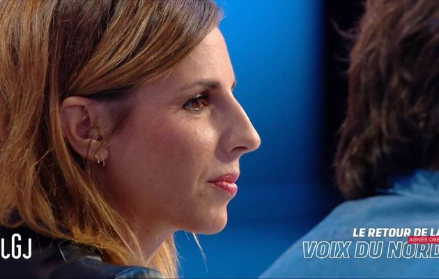 Alice Darfeuille Le Grand Journal Canal+ le 18.10.2016