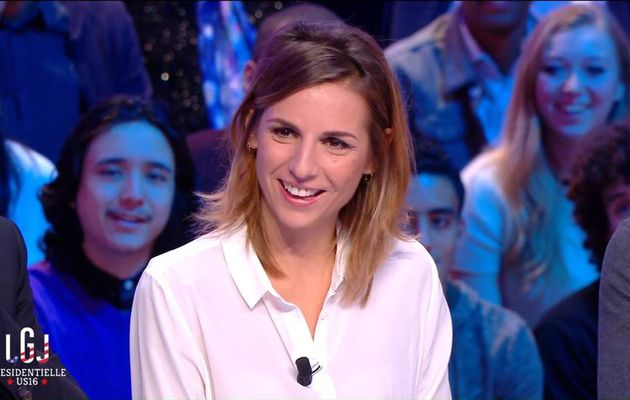 Alice Darfeuille Le Grand Journal Canal+ le 09.11.2016