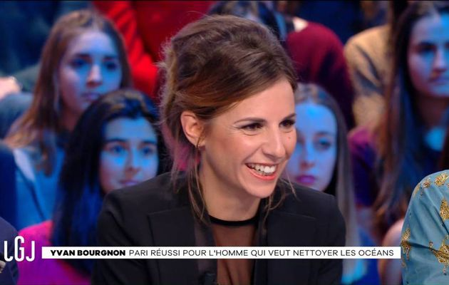 Alice Darfeuille Le Grand Journal Canal+ le 23.11.2016