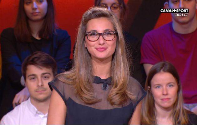 Marie Portolano 19H30 Sport Canal+Sport le 09.12.2016