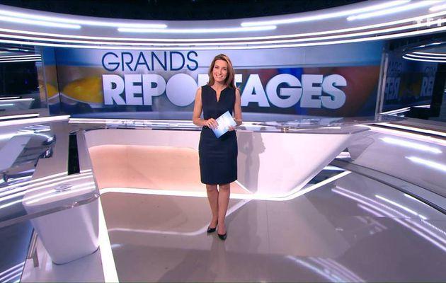 Anne-Claire Coudray JT 13H TF1 le 10.12.2016