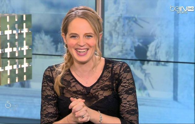 Claire Arnoux Salon VIP beIn Sports le 24.12.2016
