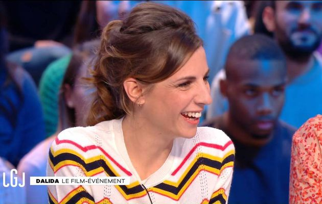 Alice Darfeuille Le Grand Journal Canal+ le 05.01.2017