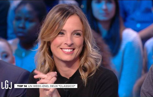 Isabelle Ithurburu Le Grand Journal Canal+ le 06.01.2017