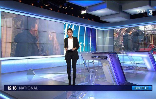 Emilie Tran Nguyen Le 12/13 France 3 le 17.01.2017