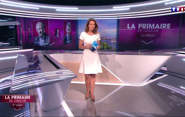Anne-Claire Coudray JT 13H TF1 le 22.01.2017
