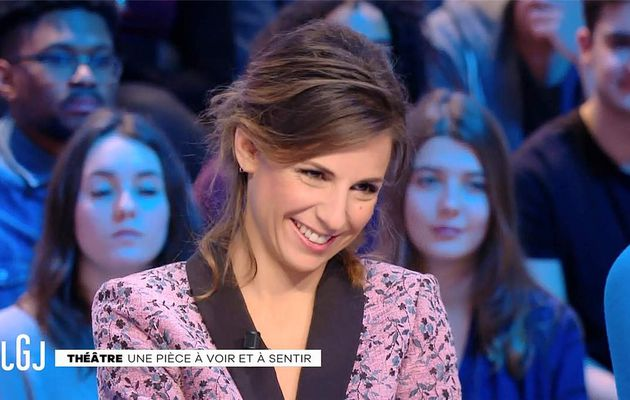 Alice Darfeuille Le Grand Journal Canal+ le 23.01.2017