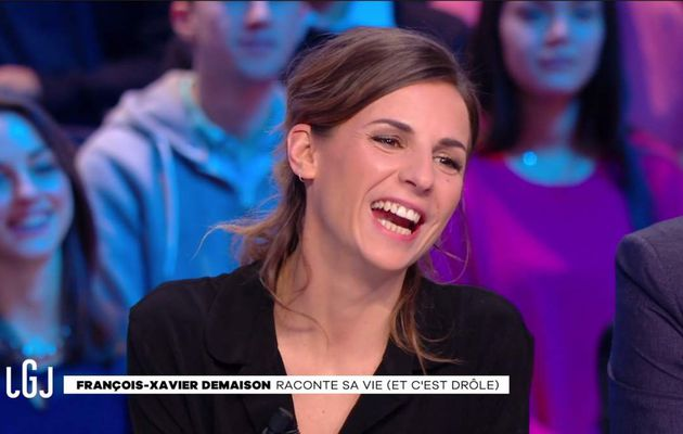 Alice Darfeuille Le Grand Journal Canal+ le 24.01.2017