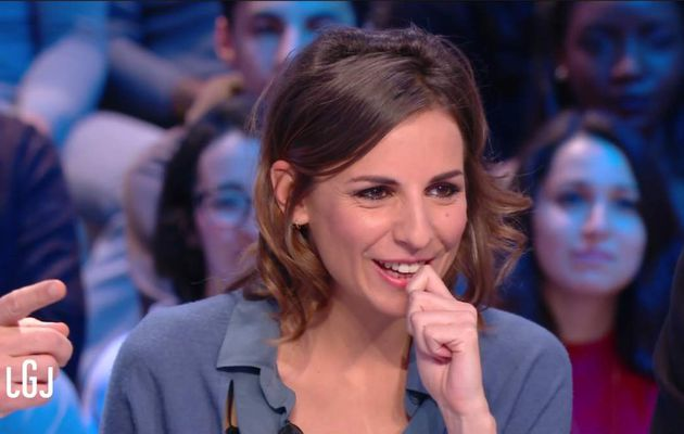Alice Darfeuille Le Grand Journal Canal+ le 27.01.2017