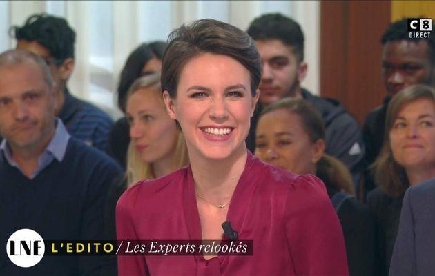 Emilie Besse La Nouvelle Edition C8 le 27.01.2017