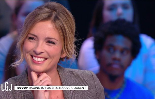 Isabelle Ithurburu Le Grand Journal Canal+ le 27.01.2017