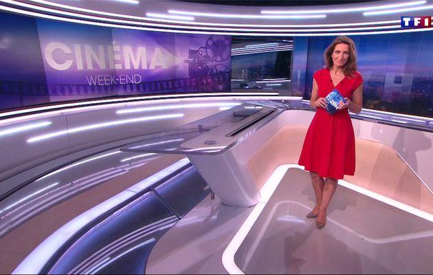 Anne-Claire Coudray JT 20H TF1 le 28.01.2017
