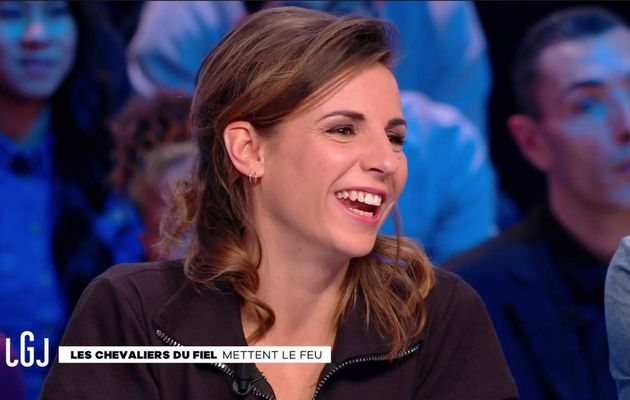 Alice Darfeuille Le Grand Journal Canal+ le 30.01.2017