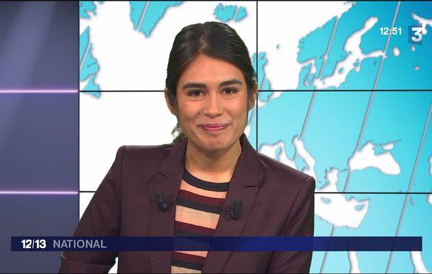 Emilie Tran Nguyen Le 12/13 France 3 le 30.01.2017
