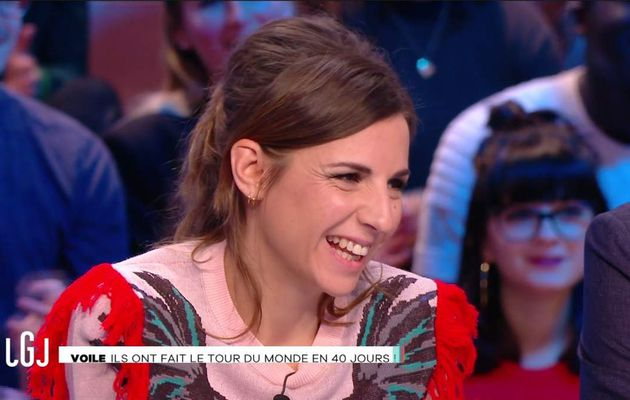 Alice Darfeuille Le Grand Journal Canal+ le 31.01.2017