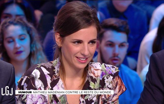 Alice Darfeuille Le Grand Journal Canal+ le 01.02.2017