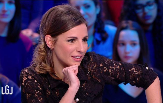 Alice Darfeuille Le Grand Journal Canal+ le 07.02.2017