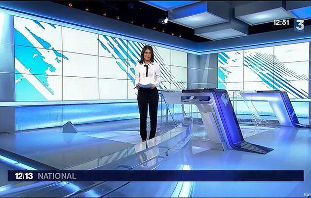 Emilie Tran Nguyen Le 12/13 France 3 le 07.02.2017