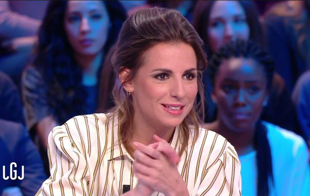 Alice Darfeuille Le Grand Journal Canal+ le 09.01.2017