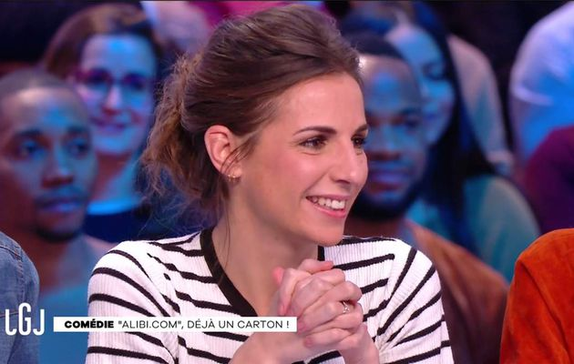 Alice Darfeuille Le Grand Journal Canal+ le 15.02.2017