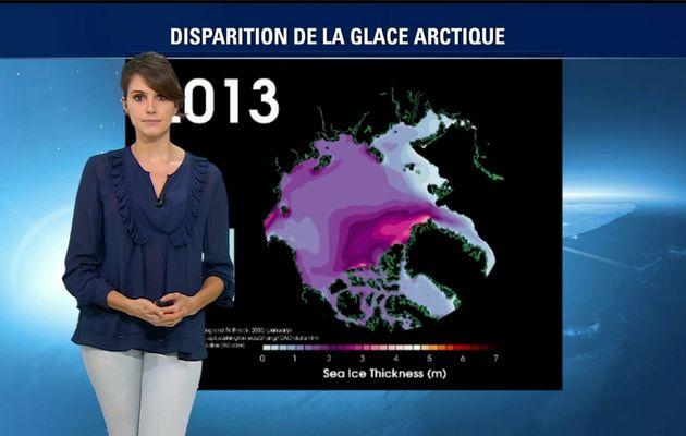 Fanny Agostini Météo BFM TV le 15..02.2017