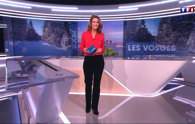 Anne-Claire Coudray JT 13H TF1 le 19.02.2017