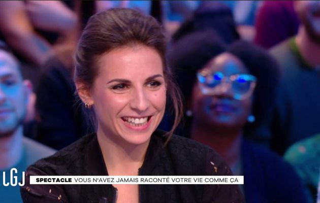 Alice Darfeuille Le Grand Journal Canal+ le 20.02.2017