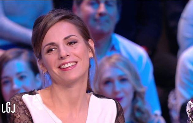 Alice Darfeuille Le Grand Journal Canal+ le 22.02.2017