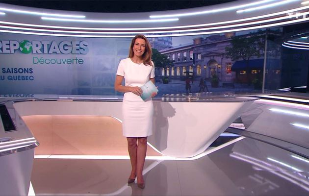 Anne-Claire Coudray JT 13H TF1 le 12.03.2017