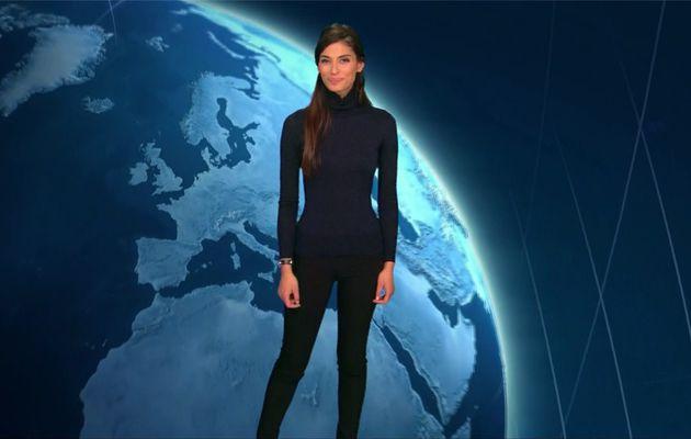 Tatiana Silva Météo TF1 le 12.03.2017