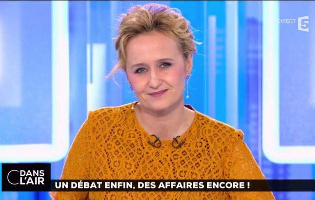 Caroline Roux C Dans l'Air France 5 le 21.03.2017