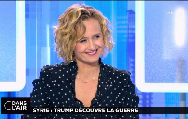 Caroline Roux C Dans l'Air France 5 le 06.04.2017