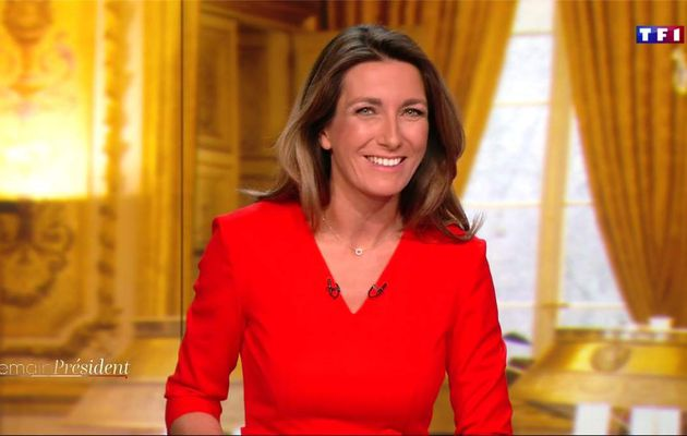 Anne-Claire Coudray Demain Président TF1 le 13.04.2017