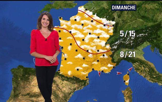 Fanny Agostini Météo BFM TV le 17.04.2017