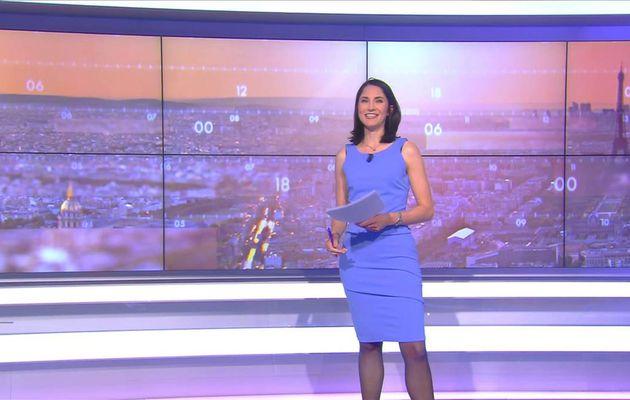 Clélie Mathias La Matinale Info Cnews le 17.04.2017