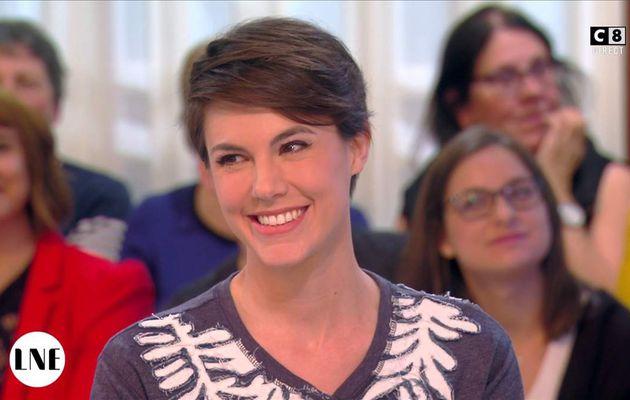 Emilie Besse La Nouvelle Edition C8 le 18.04.2017