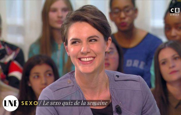 Emilie Besse La Nouvelle Edition C8 le 21.04.2017