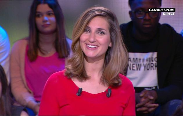 Marie Portolano 19H30 Foot Canal+Sport le 21.04.2017