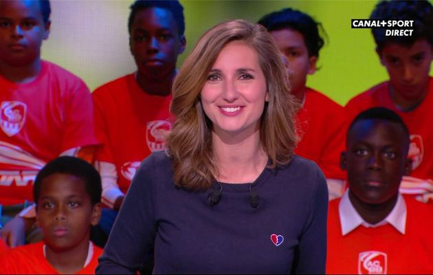 Marie Portolano 19H30 Foot Canal+Sport le 28.04.2017