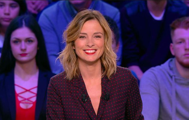 Isabelle Ithurburu Canal Rugby Club Canal+ le 30.04.2017