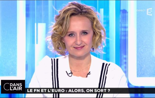 Caroline Roux C Dans l'Air France 5 le 02.05.2017